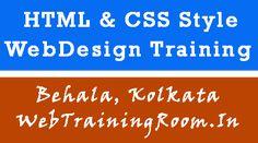 HTML CSS Web Designing Training in Kolkata Behala Learn Html And Css, Entity Framework, Web Design Training, Learn Web Design, Css Style, Seo Digital Marketing, Html Css, Marketing Training, Training Classes
