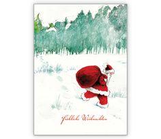 Tolle Weihnachtskarte mit Weihnachtsmann: Fröhliche Weihnachten - http://www.1agrusskarten.de/shop/tolle-weihnachtskarte-mit-weihnachtsmann-frohliche-weihnachten/    00018_0_1814, 24.12., Festtage, Geschenke, Glückwünsche, Heiligabend, Santa Claus, Weihnachtskarten, Weihnachtsmann00018_0_1814, 24.12., Festtage, Geschenke, Glückwünsche, Heiligabend, Santa Claus, Weihnachtskarten, Weihnachtsmann