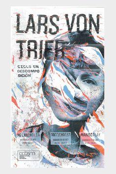 Lars Von Trier | Ciclo de cine by Antonella Geminelli, via Behance