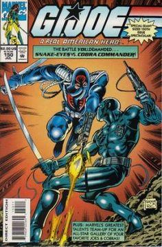 Gi Joe comic   cover   JOE: A Real American Hero #57 Comic Book