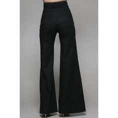 Serfontaine Kayan Jean in Black