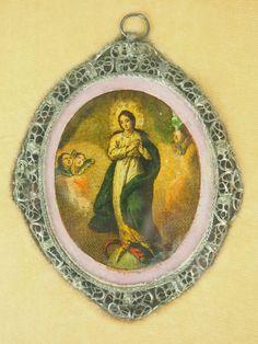 colección de 18 relicarios. diversos materiales - Comprar Antigüedades Religiosas varias en todocoleccion - 48630008