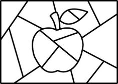 Ressam Romero Britto Eserlerinin Boyama Sayfaları Coloring Pages of The Painter Romero Britto Autumn Crafts, Autumn Art, Art Drawings For Kids, Art For Kids, Arte Country, Fruit Art, Stained Glass Patterns, Art Plastique, Colouring Pages