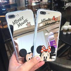 Barato Bonito Dos Desenhos Animados Mickey Mouse Casos de Telefone Espelho para o iphone 6 6 s Mais 5 SE 5S Silicone Gel Suave Tampa Traseira para o iphone 7 8 Plus Caso, Compro Qualidade Casos enquadrados diretamente de fornecedores da China: Bonito Dos Desenhos Animados Mickey Mouse Casos de Telefone Espelho para o iphone 6 6 s Mais 5 SE 5S Silicone Gel Suave Tampa Traseira para o iphone 7 8 Plus Caso