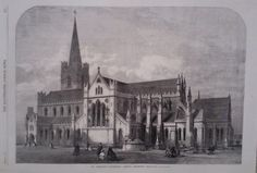 1865 PRINT ST PATRICK S CATHEDRAL,DUBLIN