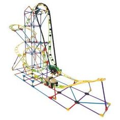 Your child can explore STEM concepts while building a working roller coaster with K'NEX Education STEM Explorations Roller Coaster Building Set! Our inquiry-based lessons challenge aspiring students as they build, investigate, problem-solve, discuss, and evaluate scientific and design principles in action. All K'NEX Education sets come with either a comprehensive guide for teachers or an experiment guide for student-led learning. All lesson plans and experiment guides are written by e...