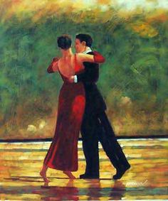 Image detail for -Shall We Dance - Modern Art, oil paintings on canvas.
