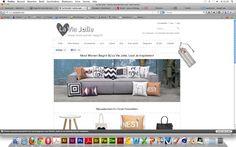la vie jolie is een mooie site. hij is mooi opgebouwd en de vormgeving is mooi. het is strak maar ook best speels. speels omdat ze hartjes hebben toegevoegd op toch een best strakke website. op de site kan je makkelijk je weg vinden
