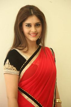 Surabhi Latest Saree Photos at Express Raja Movie Audio Launch Stills