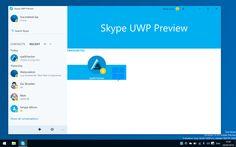 Nuova App Skype per Windows 10 Pc e Mobile   Immagini