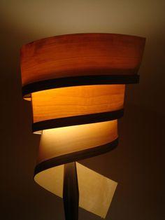 Wood Lamp Series By Matt Dennis, Via Behance