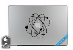 MacBook TV Commercial Love Science Atom Big Bang by VinylAptitude, $5.99