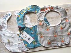 Peter Rabbit bib gift set, baby boy 0/3 months 3 pack dribble bibs, drool bibs, burp cloths, baby shower gift, bew baby boy, baby clothes by SmallBearCraft on Etsy  #babyshowerideas