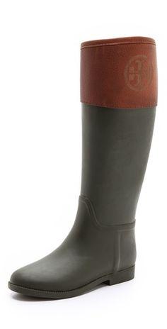 Tory Burch Diana Rain Boots | SHOPBOP