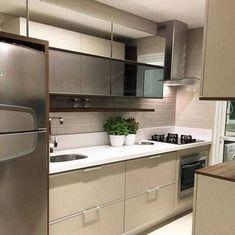 Home Interior Design Kitchen Interior, Beautiful Kitchens, Kitchen Design Small, Kitchen Furniture, Kitchen Ceiling, Kitchen Booths, Home Kitchens, Kitchen Suite, Kitchen Design