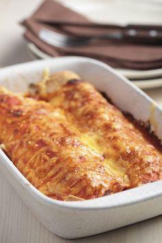Mexicaans of niet: dit recept voor enchilada's uit de oven is niet te versmaden! Daarnaast is…