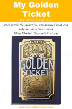 """""""My Golden Ticket"""" by Wonderbly – The Perfect Personalised Treat!If you're a regular me and b reader then you'll know that we LOVE books and we love reading. Today on the blog thoughwe're reviewing a very exciting book –""""My Golden Ticket"""" byWonderbly. And before I start with our review, look out for a very special giveaway during December! As part of the """"12 Days of Parenting"""" series, we will be giving away two copies of this special story!"""