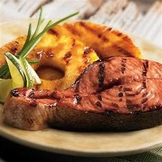Grilled Salmon and Pineapple - Price Chopper Recipe