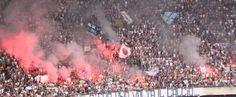 """Striscione ultras Napoli Curva B contro il calcio moderno """"c'era una volta il calcio..."""" (Verissimo)"""