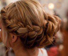 beach wedding hairstyles bridesmaid Hair Updos For BridesmaidsMy updos for bridesmaids Braided Hairstyles For Wedding, Braided Updo, Bun Braid, Wedding Updo, Bridal Hairstyles, Bridesmaid Hairstyles, Bun Updo, Prom Updo, Head Braid