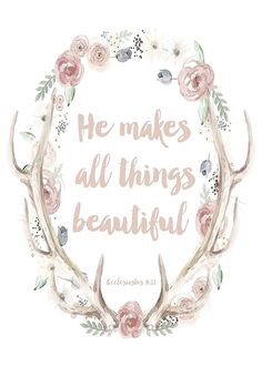 These free printable scripture art pieces will help you decorate with bible verses quick and easy, they also make the perfect affordable & thoughtful gift! Bible Verses Quotes, Bible Scriptures, Scripture Art, Bible Psalms, Healing Scriptures, Beauty Bible Verses, Life Verses, Scripture Pictures, Healing Quotes