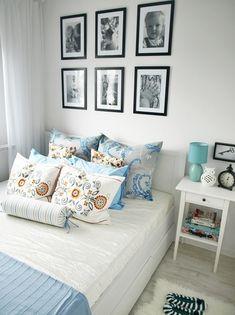 Przepis na małą sypialnię Decor, House, Interior, Home Bedroom, Gallery Wall, Home Decor, House Interior, Interior Design, Bedroom