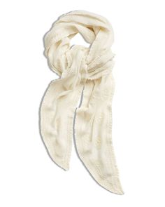 Chico's Women's Circle Lace Scarf