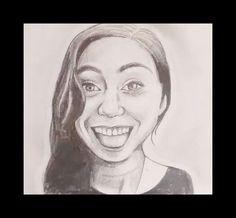Pencil drawing £10