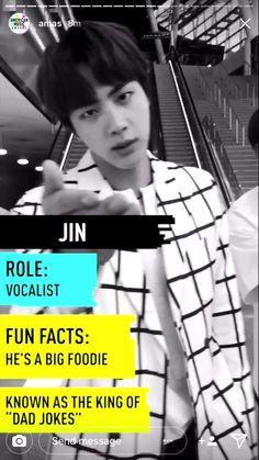 #BTSxAMAs - Jin