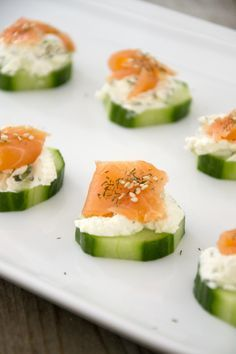 Looking for a nice fresh snack without too much fuss? Finger Food Appetizers, Finger Foods, Appetizer Recipes, A Food, Good Food, Food And Drink, Yummy Food, Healthy Snacks, Healthy Recipes