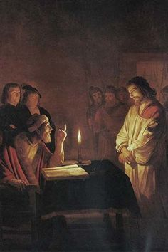 Christ in front of the high priest
