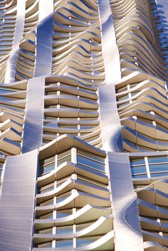 New York by Gehry | highrise condo tower recently completed in the Financial District downtown Manhattan. Designed by architect Frank Gehry.