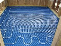 heated floors :) A must have!