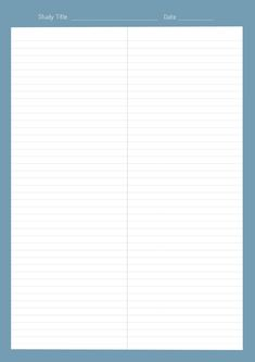Notes Template, Templates, Memo Notepad, Note Memo, Study Planner, Good Notes, Note Paper, Writing Paper, Printable Paper