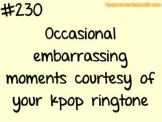 my phone is full of nothing but KPOP songs & ringtones! ;)