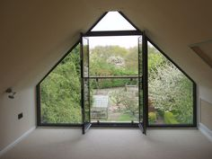 nice loft gabled window