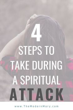 What to do if You Are Experiencing a Spiritual Attack - The Modern Mary Spiritual Attack, Spiritual Warfare, Spiritual Life, Spiritual Growth, Bible Studies For Beginners, Bible Study Tips, Christian Music Playlist, Christian Friends, Christian Women
