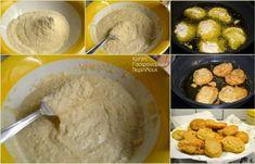 Απλοί, χωριάτικοι τηγανίτες - cretangastronomy.gr Mashed Potatoes, Meat, Chicken, Ethnic Recipes, Food, Whipped Potatoes, Smash Potatoes, Essen, Meals