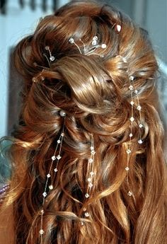 Crystal (black & white) Collection Hair Flair - Clip in Hair Jewelry
