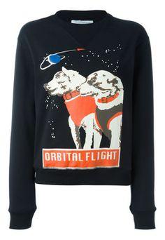 J.W. Anderson BLACK J.W. Anderson 'Space Dogs' sweatshirt