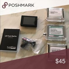 LCD Touch Bac Pac for Go pro Connects to your go pro so that you can review your photos in real time go pro Other
