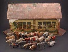 Folk art antique Noah's Ark