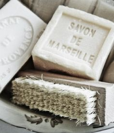 Savon de Marseille is a traditional hard soap made from vegetable oils that has been produced around Marseille What A Nice Day, French Soap, French Vanilla, Savon Soap, Vibeke Design, Purple Home, Home Made Soap, Soap Making, French Country