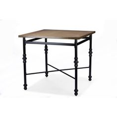 Shop for Baxton Studio Broxburn Vintage Industrial Wood and Metal Pub Table. Get free delivery at Overstock.com - Your Online Furniture Shop! Get 5% in rewards with Club O!