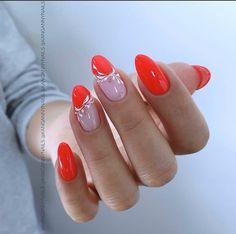 Nehty # Nehty # Akrylové nehty # Ombre # Almond Nails # Stiletto Nails & Nail Art & Nail Art & Laky na nehty & Polské nehty & Laky na nehty & Laky na nehty # Nagel & Nagel Natural Nail Designs, Elegant Nail Designs, Red Nail Designs, French Nail Designs, Acrylic Nail Designs, Rose Gold Nails, Red Nails, Cute Nails, Pretty Nails