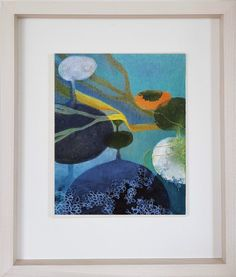 Hold Fast in frame | from the rock pool painting collection, A Moving Stillness | Tara Leaver