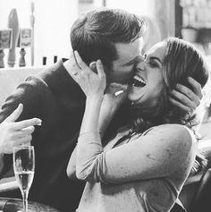 """""""Mi piace"""": 35, commenti: 1 - @gabbyscasey su Instagram: """"Sooo cute. #ChicagoFire #MonicaRaymund #GabrielaDawson #JesseSpencer #MatthewCasey #Dawsey"""""""