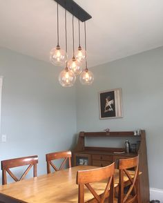 CB2 Firefly Pendant with antique bulbs from Anthropologie