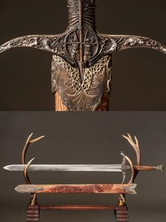 Game Of Thrones Sword, Game Of Thrones Fans, Fantasy Blade, Fantasy Weapons, Larp Armor, Knight Armor, Swords And Daggers, Knives And Swords, Silver Knight