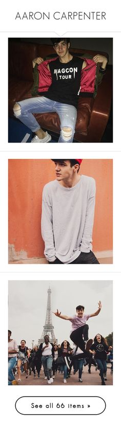 """""""AARON CARPENTER"""" by angellynn02 ❤ liked on Polyvore featuring aaron carpenter and cameron dallas"""
